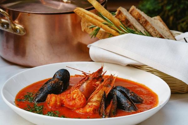 Качуко - тосканський пікантний суп з морепродуктами