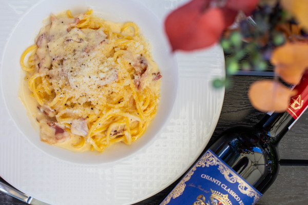 Спагеті Карбонара з панчетою