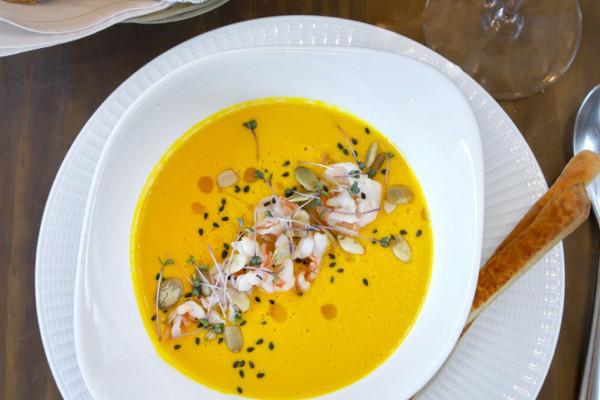 Крем суп з гарбуза