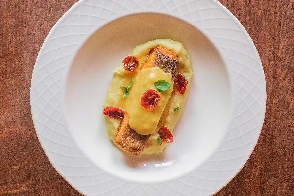 Шотландський лосось Label Rouge із картопляним пюре