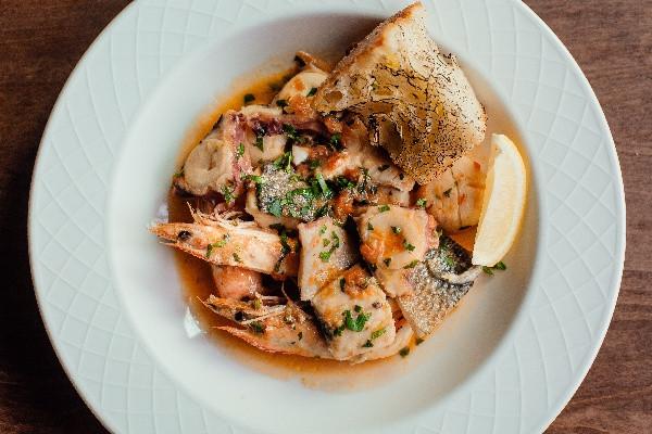 Соте з морепродуктів