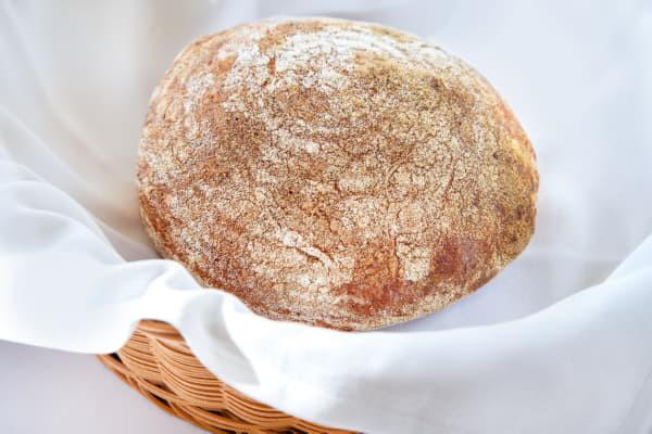 Хліб трюфельний з льоном