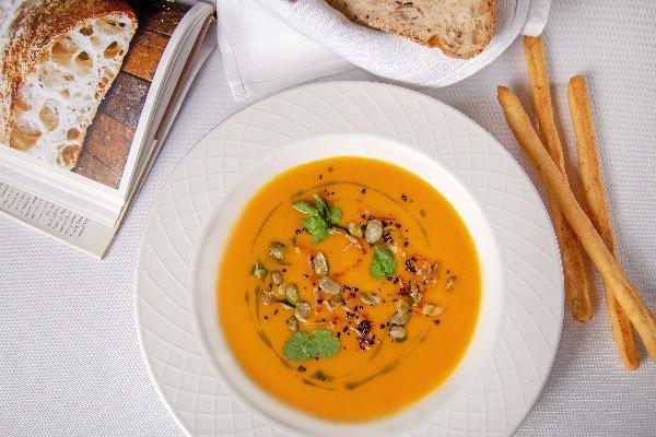 Крем-суп із гарбуза